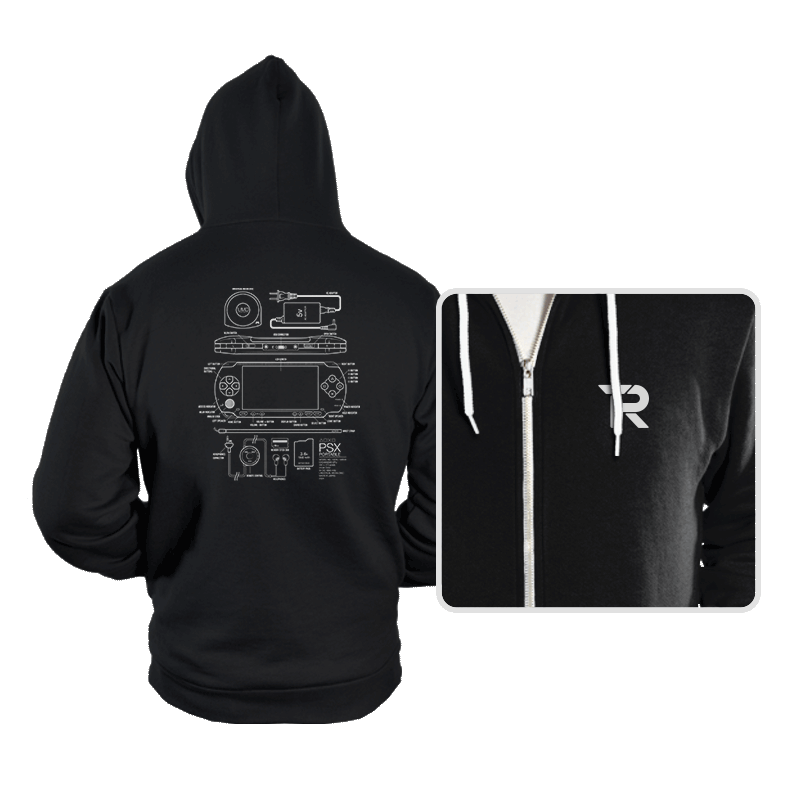 PSX Portable - Hoodies - Hoodies - RIPT Apparel