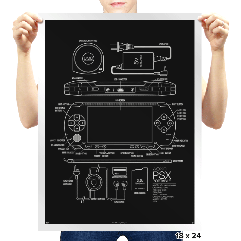 PSX Portable - Prints - Posters - RIPT Apparel