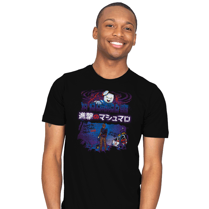 Attack on Marshmallow - Mens - T-Shirts - RIPT Apparel