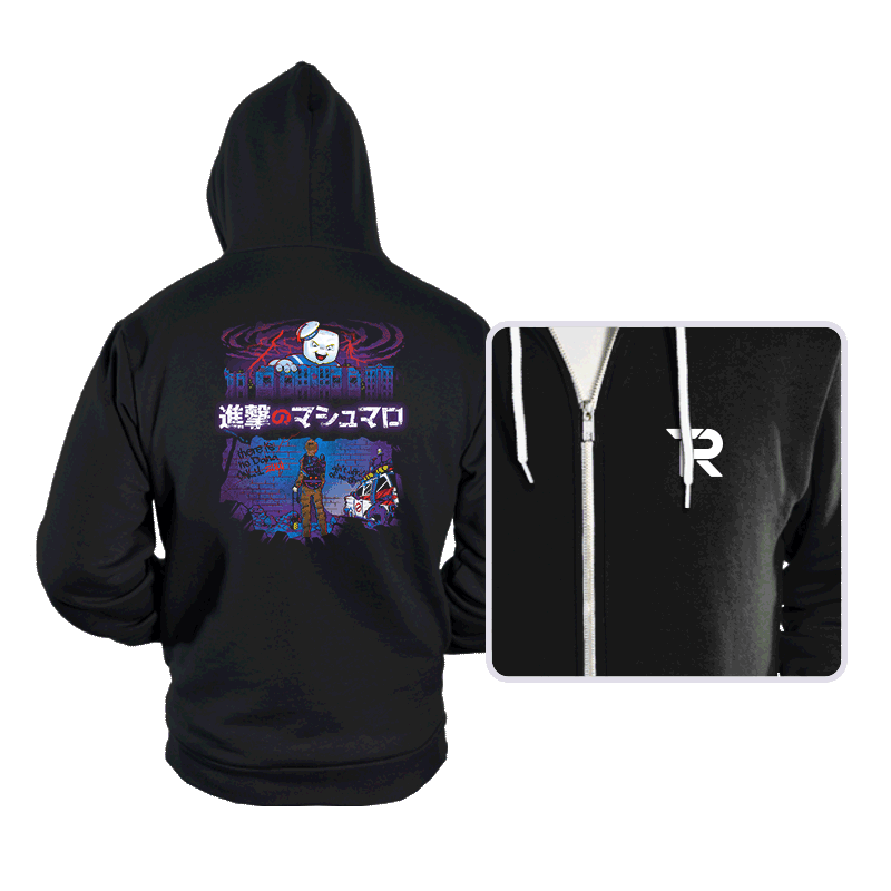 Attack on Marshmallow - Hoodies - Hoodies - RIPT Apparel