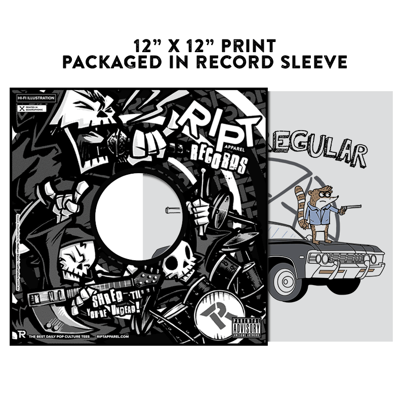 Super Regular - Album Cover Prints - Posters - RIPT Apparel