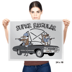 Super Regular - Prints - Posters - RIPT Apparel