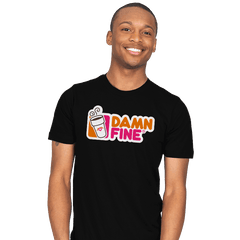 Damn Fine - Mens - T-Shirts - RIPT Apparel