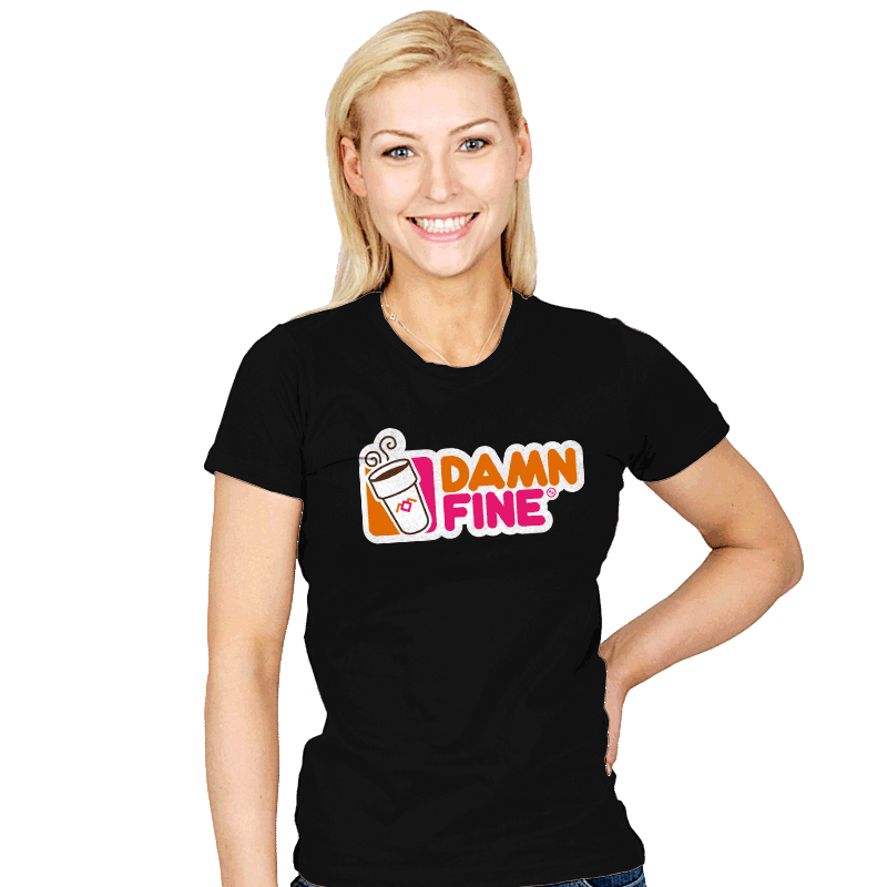 Damn Fine - Womens - T-Shirts - RIPT Apparel