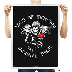 Sons of Shinigami - Prints - Posters - RIPT Apparel