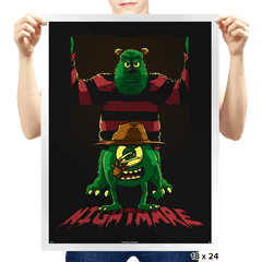 Freddy University - Prints - Posters - RIPT Apparel