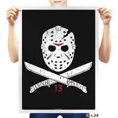 Jolly Voorhees - Prints - Posters - RIPT Apparel