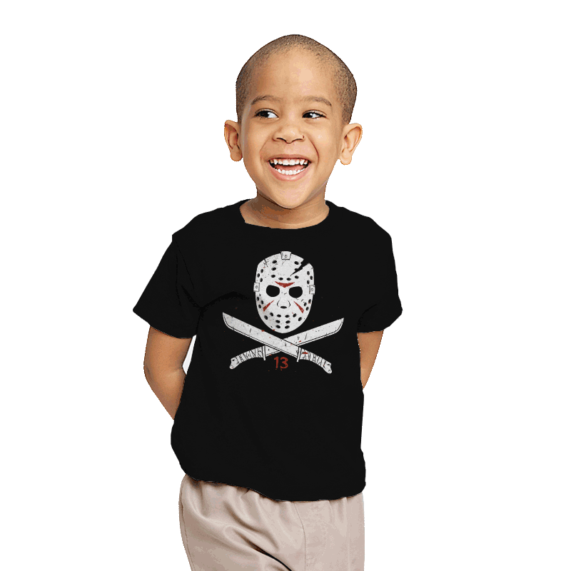 Jolly Voorhees - Youth - T-Shirts - RIPT Apparel