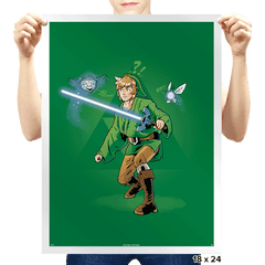 Use the (tri)Force - Prints - Posters - RIPT Apparel