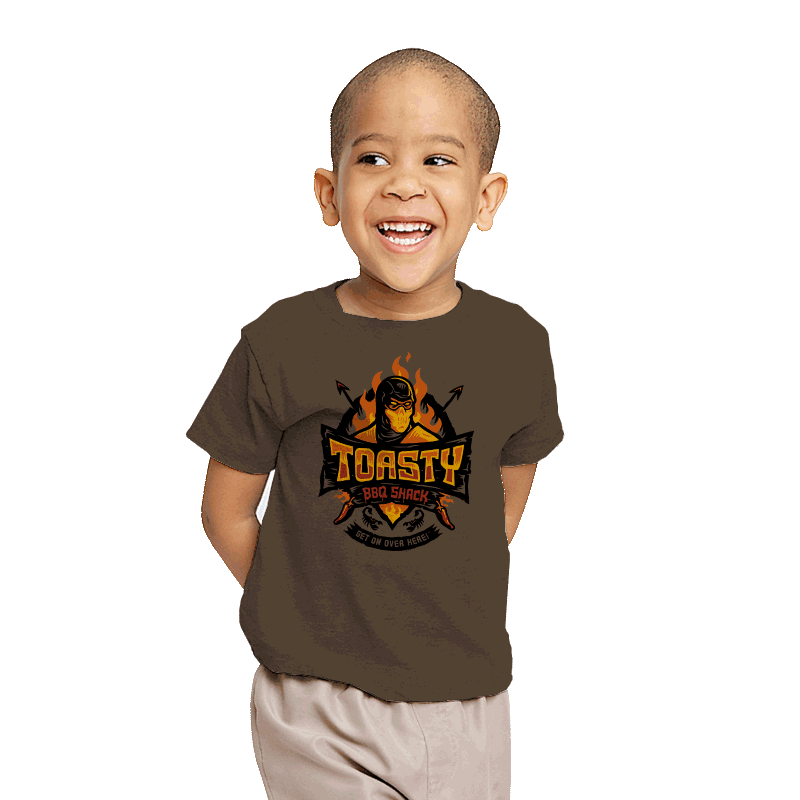 Toasty BBQ Shack - Youth - T-Shirts - RIPT Apparel