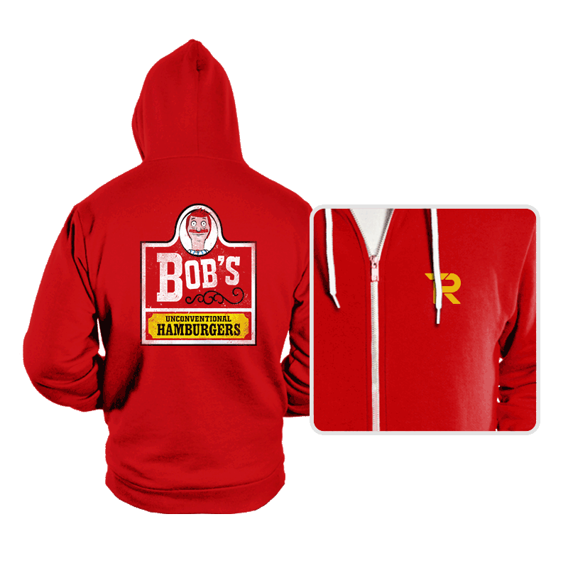 Unconventional Burgers - Hoodies - Hoodies - RIPT Apparel