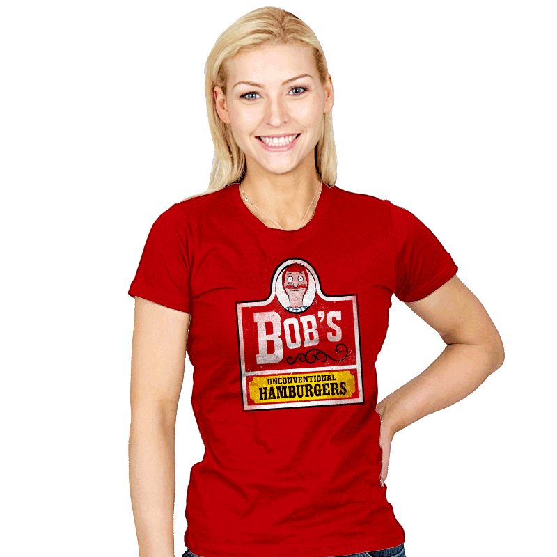 Unconventional Burgers - Womens - T-Shirts - RIPT Apparel