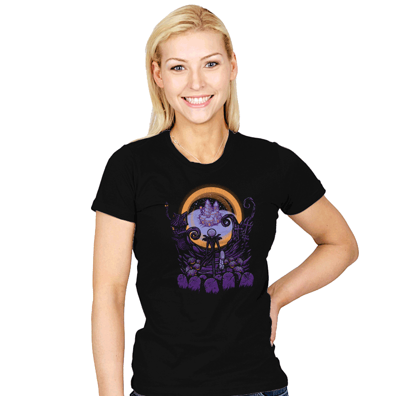 Portal Nightmare - Womens - T-Shirts - RIPT Apparel
