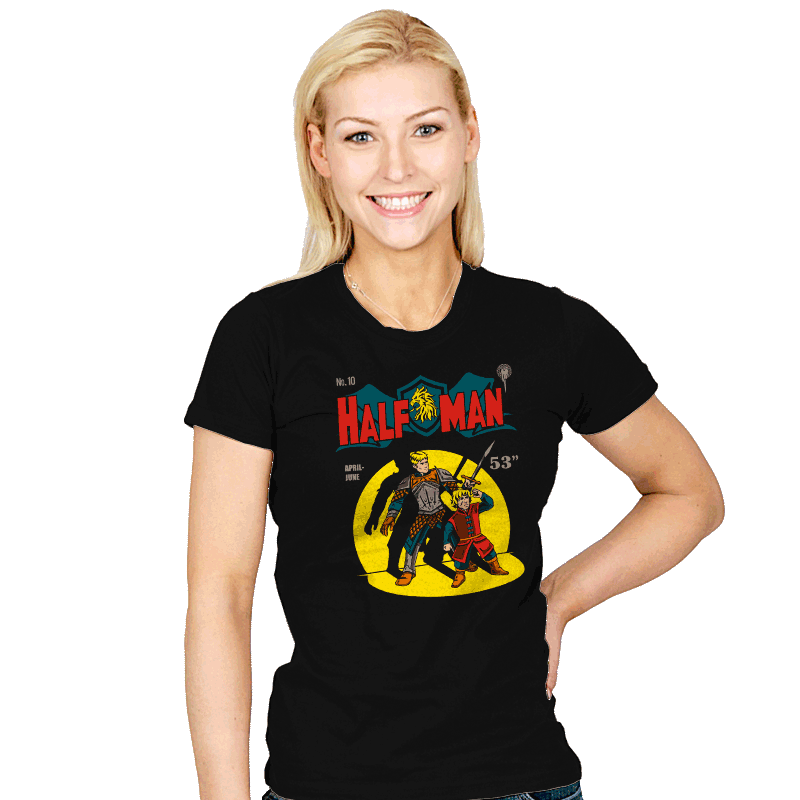 Dwarf Crusader - Womens - T-Shirts - RIPT Apparel