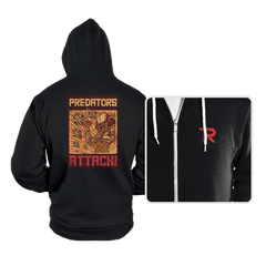 Predators Attack! - Hoodies - Hoodies - RIPT Apparel