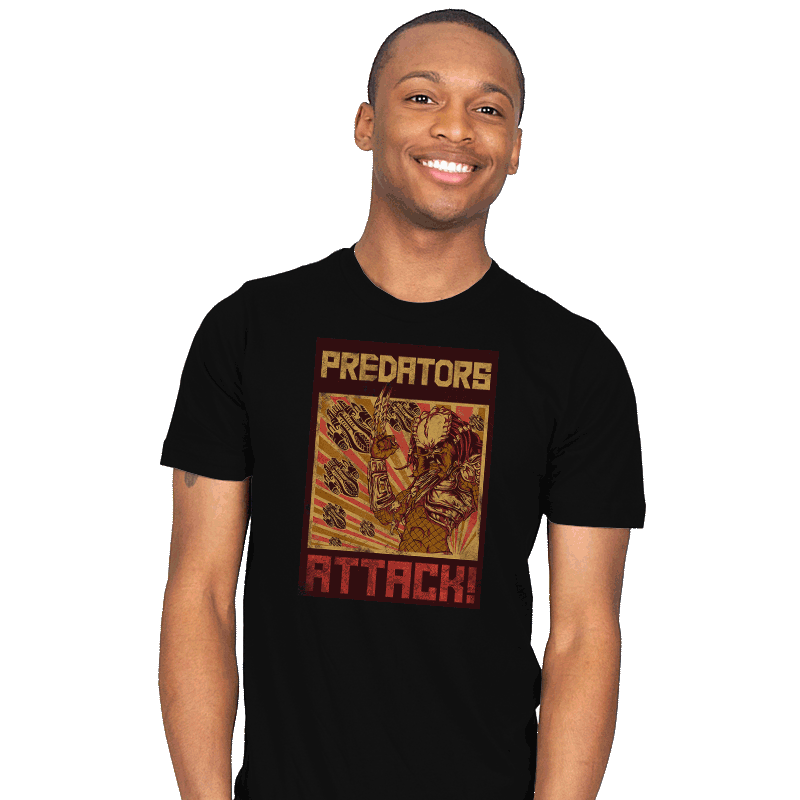 Predators Attack! - Mens - T-Shirts - RIPT Apparel