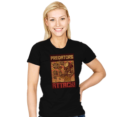 Predators Attack! - Womens - T-Shirts - RIPT Apparel