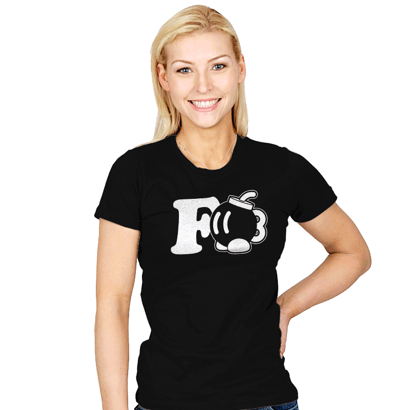 F-Bobomb - Womens - T-Shirts - RIPT Apparel