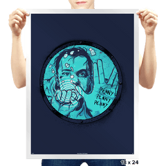 Sheldon is LOST - Prints - Posters - RIPT Apparel