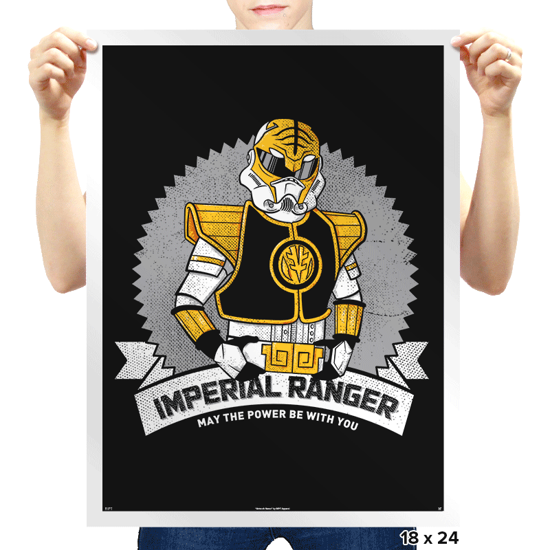 Imperial Ranger - Prints - Posters - RIPT Apparel