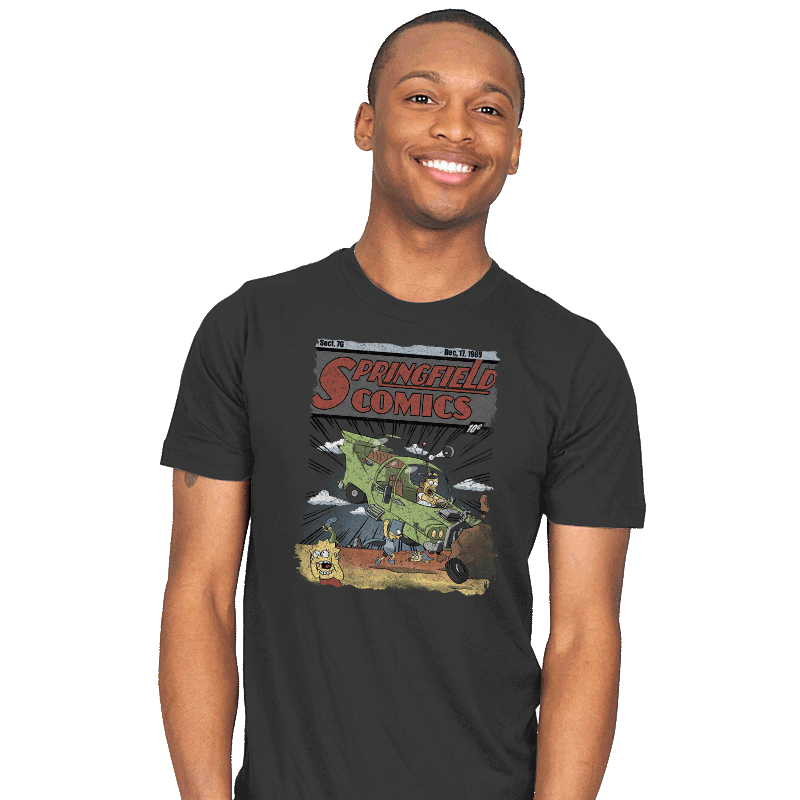 Springfield Comics - Mens - T-Shirts - RIPT Apparel