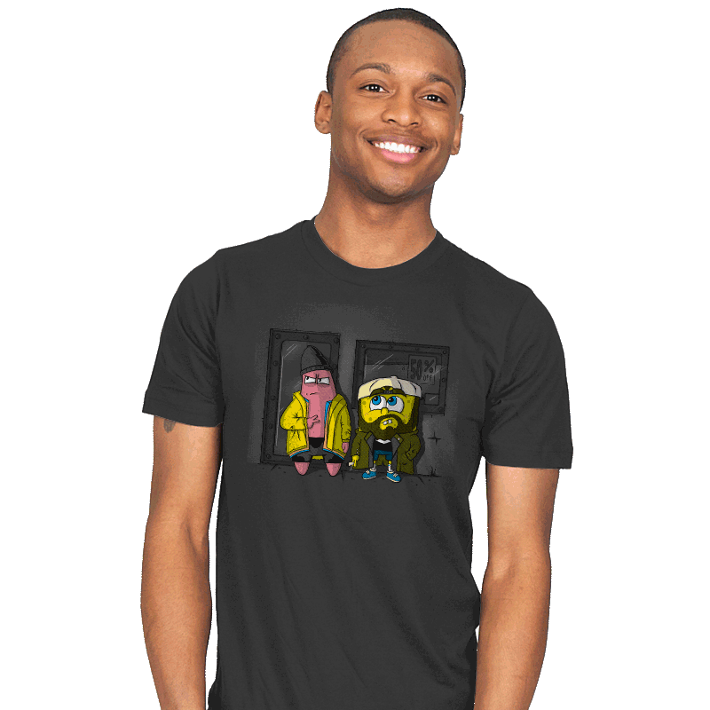 Pat & Silent Bob SquarePants - Mens - T-Shirts - RIPT Apparel