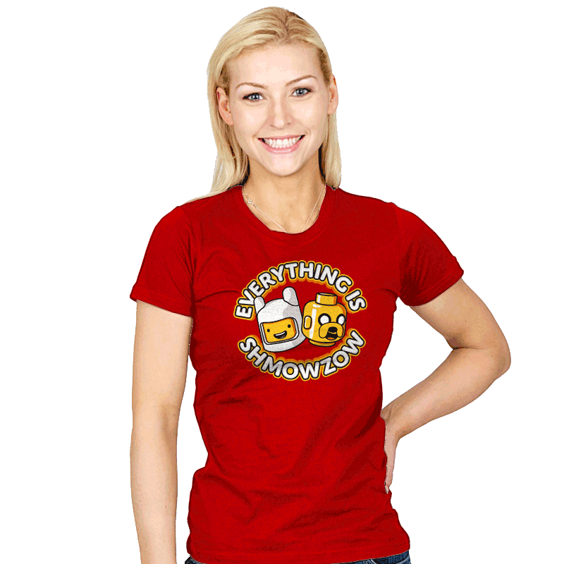 Everything is Shmowzow - Womens - T-Shirts - RIPT Apparel