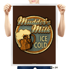 Mudder's Milk - Prints - Posters - RIPT Apparel