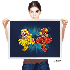 Super Flashy Rivals - Prints - Posters - RIPT Apparel