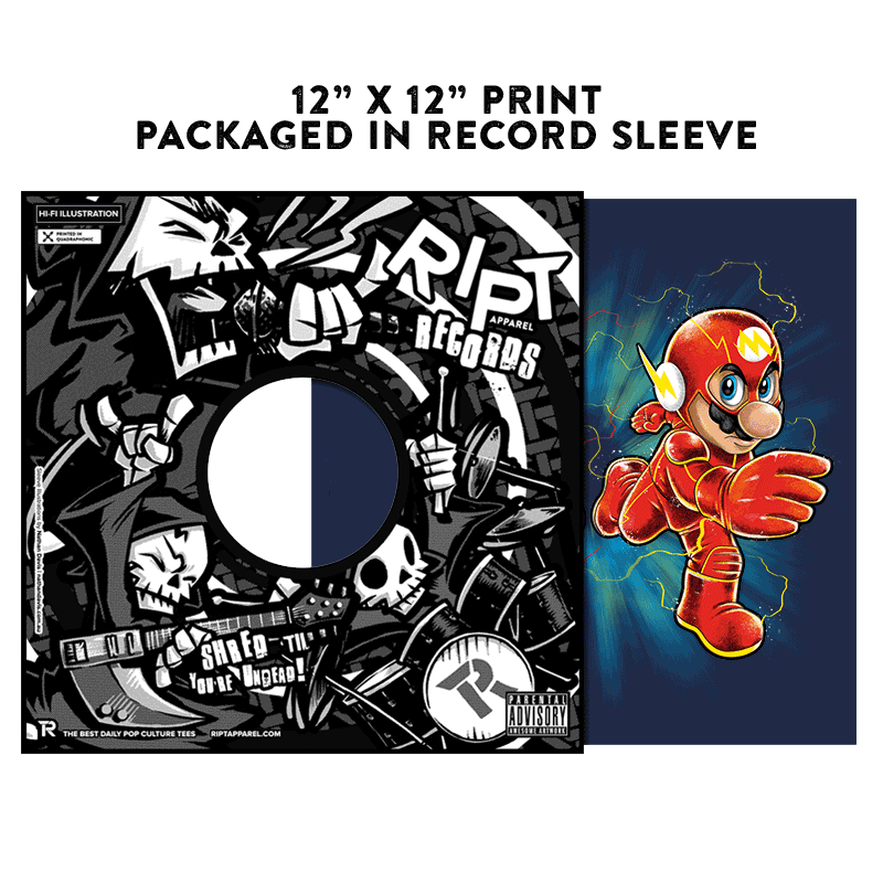 Super Flashy Rivals - Album Cover Prints - Posters - RIPT Apparel