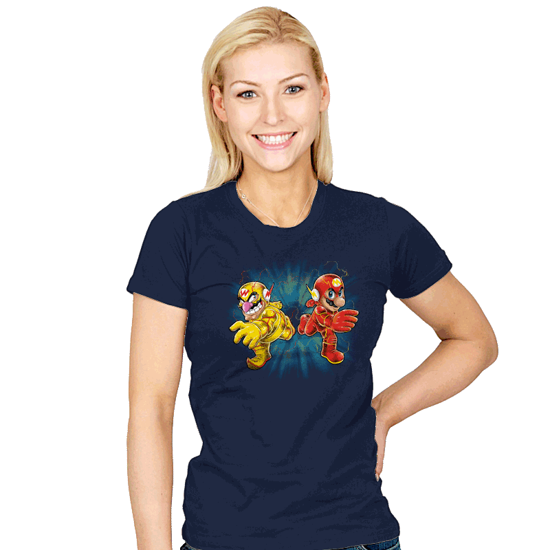 Super Flashy Rivals - Womens - T-Shirts - RIPT Apparel