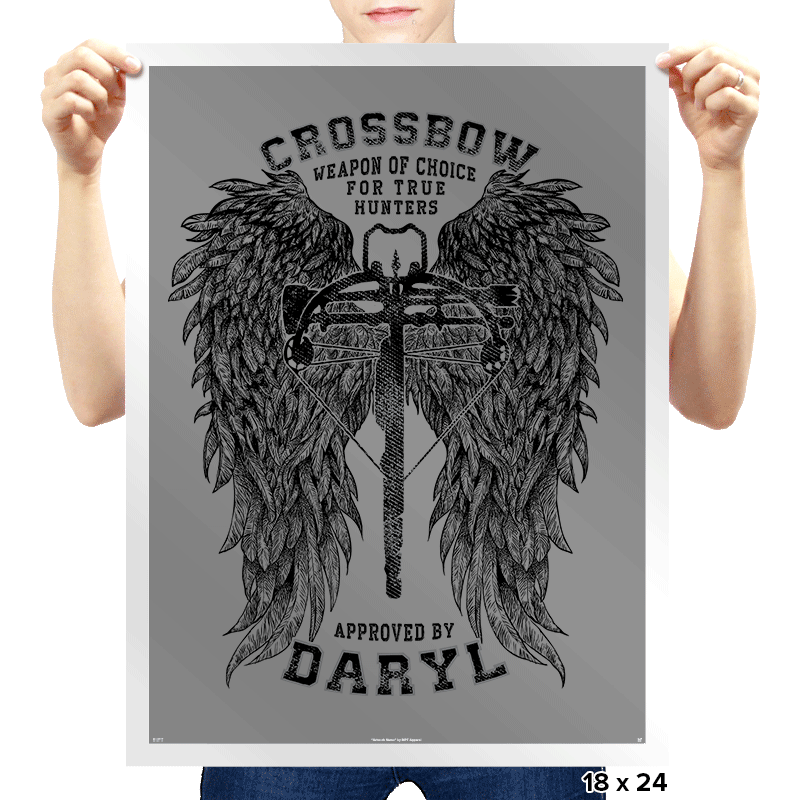 Crossbow - Prints - Posters - RIPT Apparel