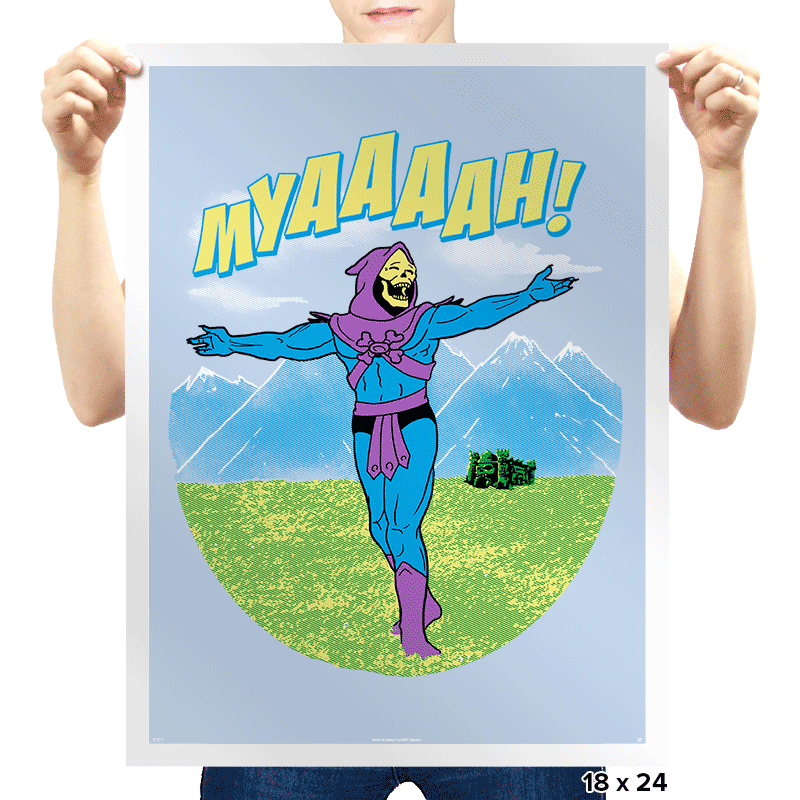 The Sound Of MYAAAAH! - Prints - Posters - RIPT Apparel