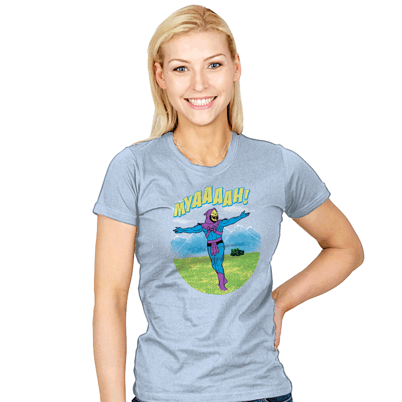 The Sound Of MYAAAAH! - Womens - T-Shirts - RIPT Apparel