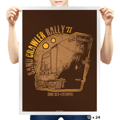Vintage Sand Crawl - Prints - Posters - RIPT Apparel