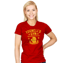 Fogwell's Gym - Womens - T-Shirts - RIPT Apparel