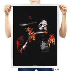 Jason's Nightmare - Prints - Posters - RIPT Apparel
