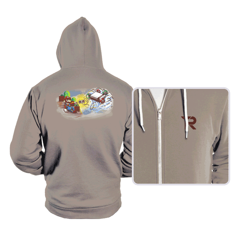 The Creation of Gaming - Hoodies - Hoodies - RIPT Apparel
