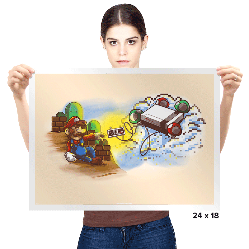 The Creation of Gaming - Prints - Posters - RIPT Apparel