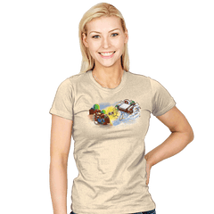 The Creation of Gaming - Womens - T-Shirts - RIPT Apparel