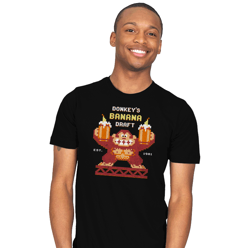 Donkey's Banana Draft - Mens - T-Shirts - RIPT Apparel
