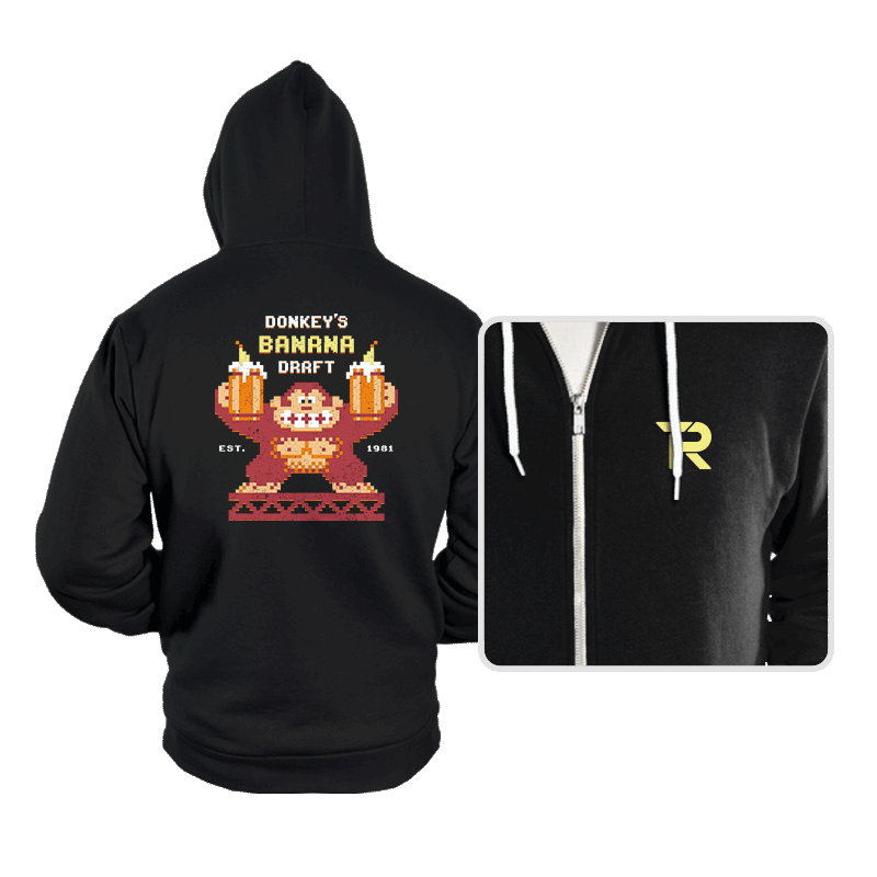 Donkey's Banana Draft - Hoodies - Hoodies - RIPT Apparel