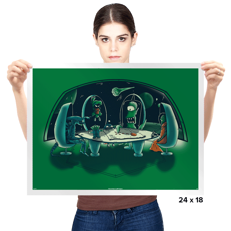 The Final Attack - Prints - Posters - RIPT Apparel