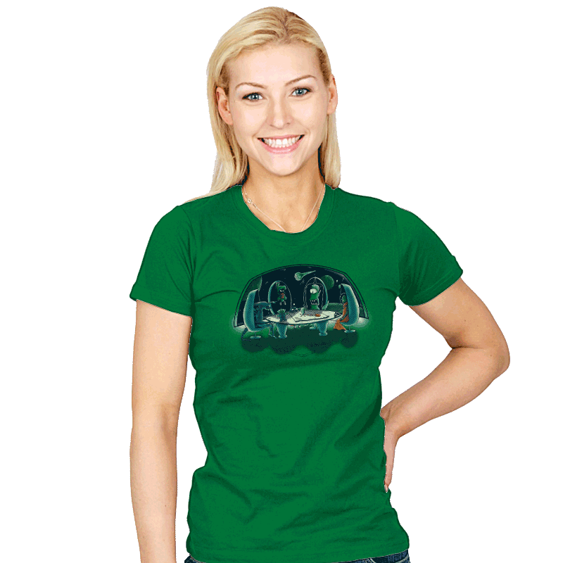 The Final Attack - Womens - T-Shirts - RIPT Apparel