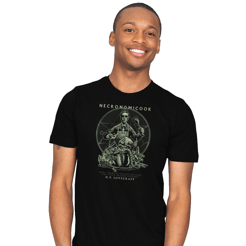 Necronomicook - Mens - T-Shirts - RIPT Apparel