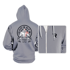 God's Gym - Hoodies - Hoodies - RIPT Apparel