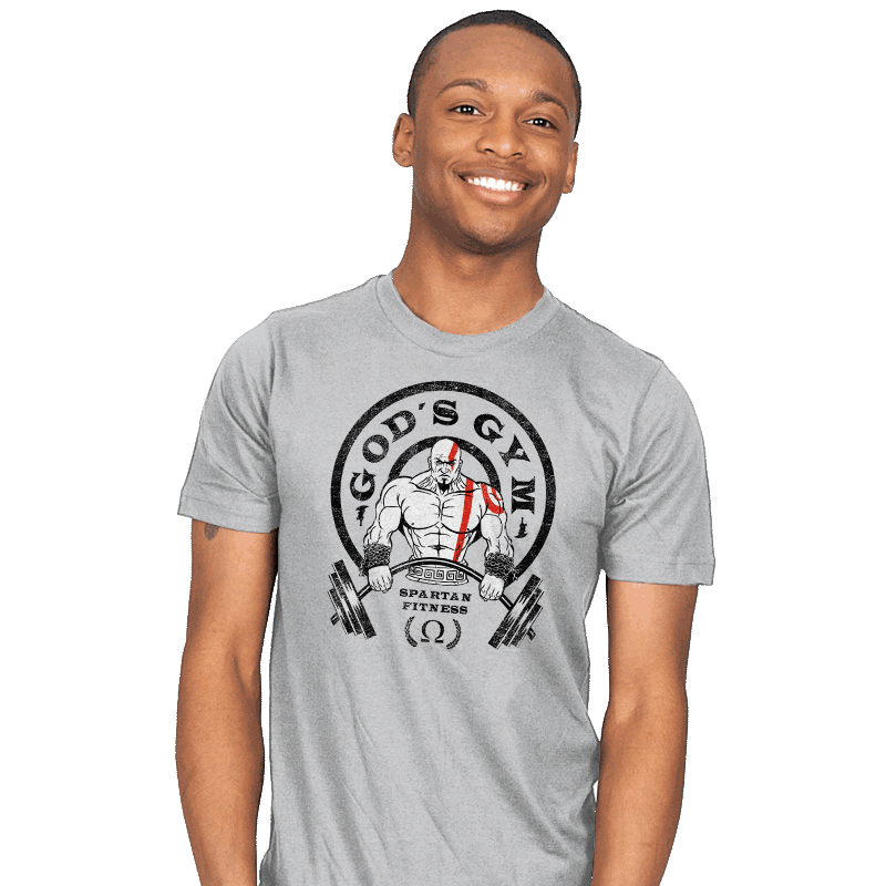 God's Gym - Mens - T-Shirts - RIPT Apparel