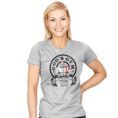 God's Gym - Womens - T-Shirts - RIPT Apparel