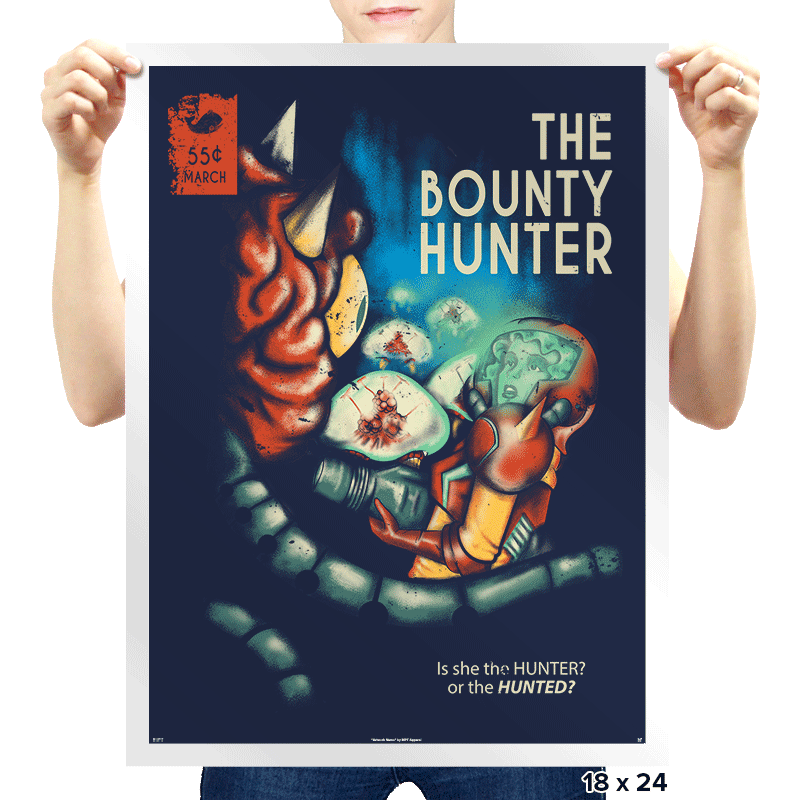 The Bounty Hunter - Prints - Posters - RIPT Apparel
