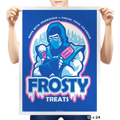 Frosty Treats - Prints - Posters - RIPT Apparel